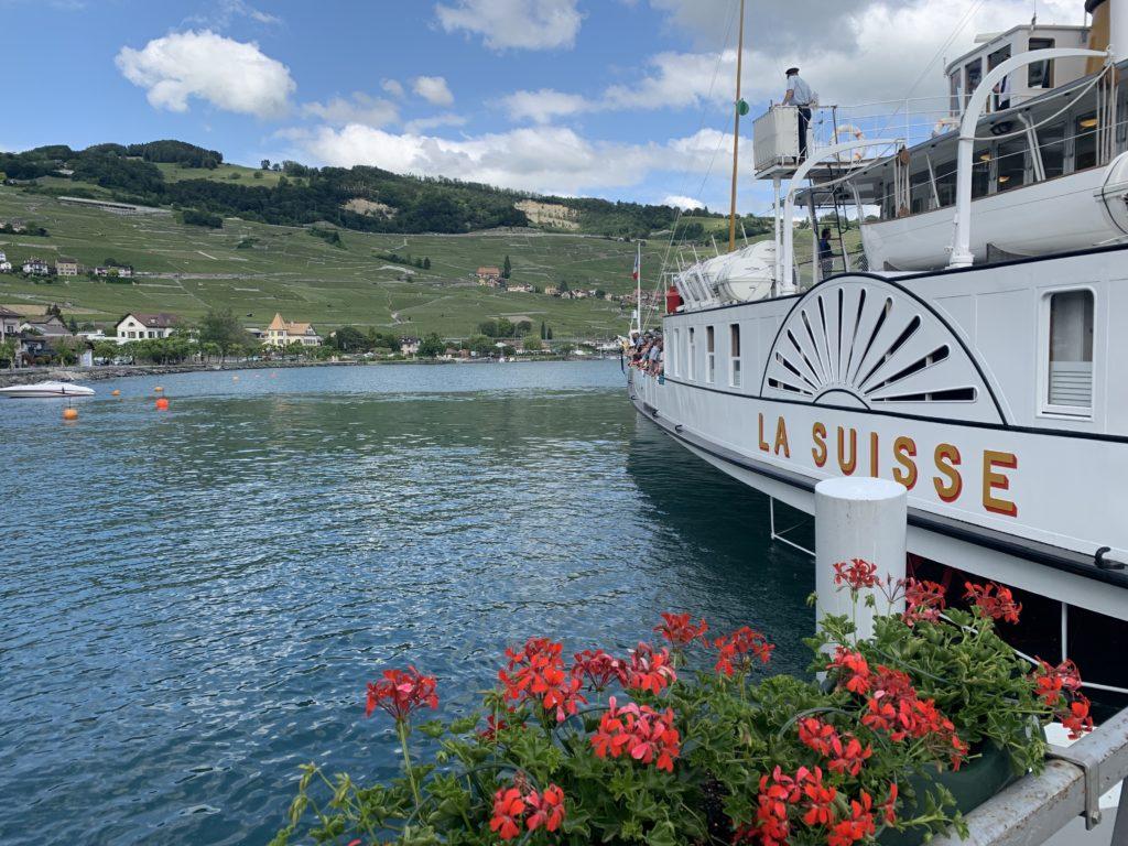 Passeio barco Belle Époque Lausanne