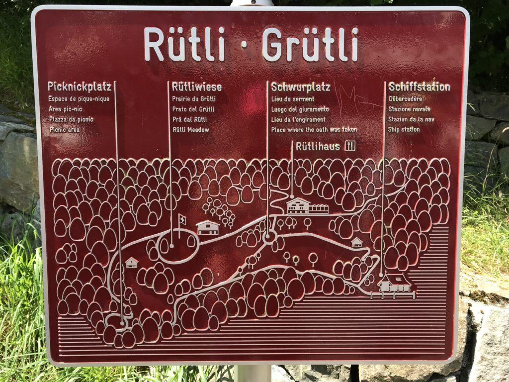 Mapa do local a ser visitado. Foto @guiasuica